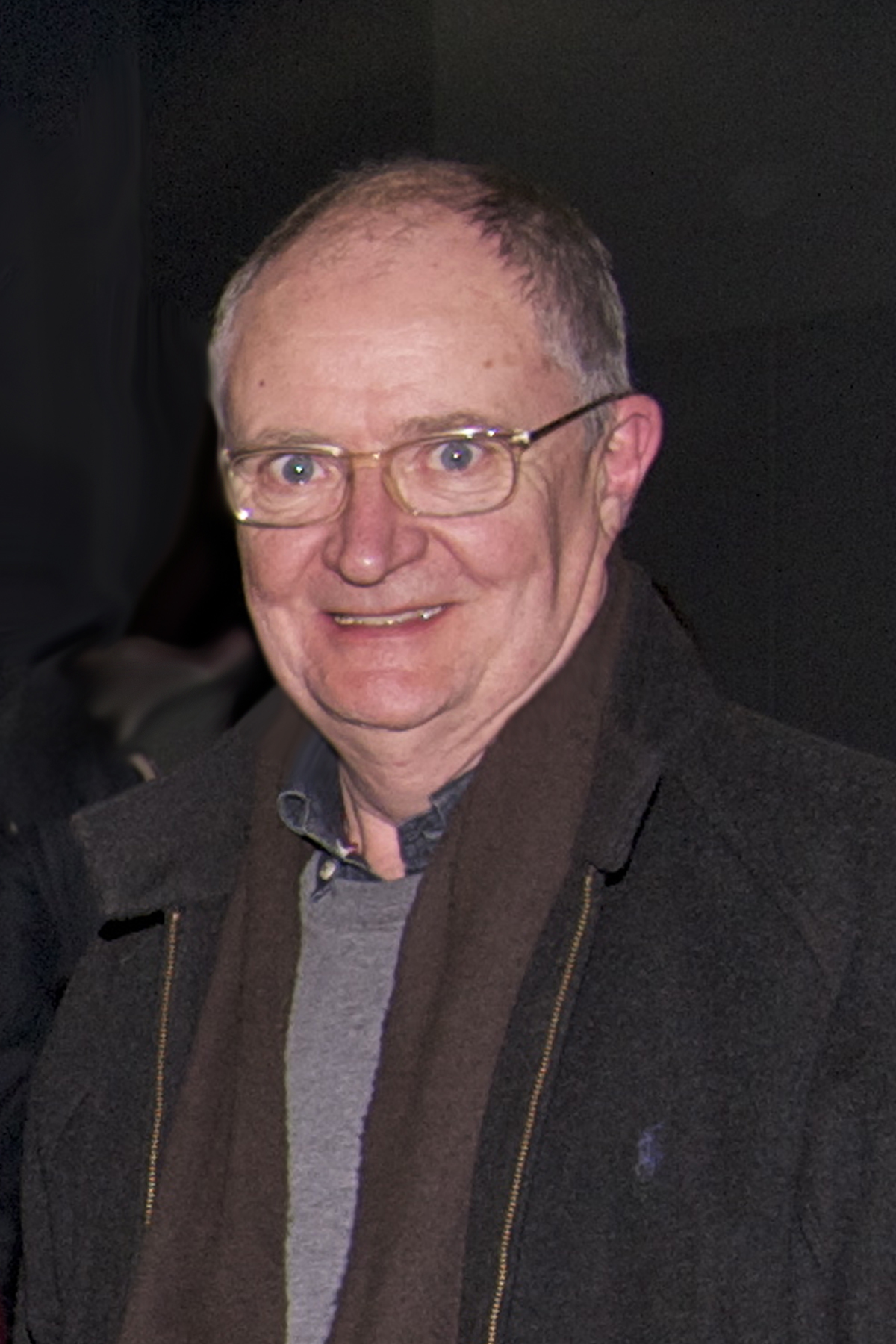 OUR PATRON: Jim Broadbent